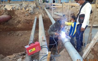 installation-hydrant-pipe-line